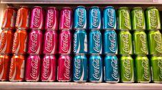 Coca Cola rainbow  #coke