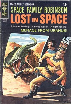 Lost in Space. Menace From Uranus? I thought they couldn't even find the solar system!