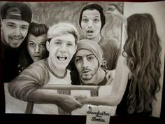 Our fandom took some major drawing classes !! Liam said this was amazing!