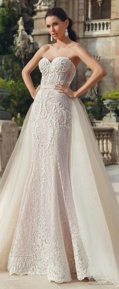 56ce351a8 Ricca Sposa Wedding Dress Collection 2018 - Hola Barcelona Wedding  Bridesmaid Dresses, Bridal Dresses,