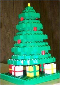 #Lego #Christmas #Tree