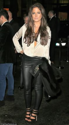 Binky is looking gorgeous these days - we loved her long luscious locks at an exclusive member's club party. Get her look with our Ash Brown #9 extensions: http://www.cliphair.co.uk/Ash-Brown-Hair-Extensions-9/ or click the image to shop now
