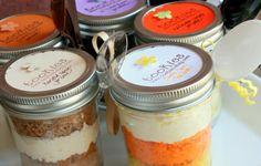 Halloween Jar Cakes
