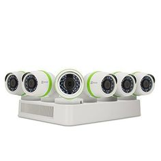 EZVIZ Smart Home 1080p Security Camera System, 6 Weatherproof HD 1080p Cameras, 8 Channel DVR 1TB HDD, 100ft Night Vision, Works with Alexa using IFTTT #smarthomecamera