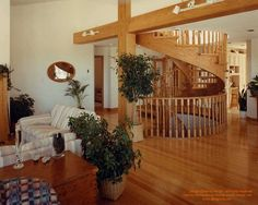 The first home I designed in Ontario, a very long time ago.  ‪#‎spiralstairs‬ ‪#‎circularstairs‬ ‪#‎ontario‬ ‪#‎homedesign‬ ‪#‎horseshoevalley‬  For more photos of this or more of my designs, please check out my website, www.designma.com, my Design Page, www.facebook.com/loghomedesign — at Horseshoe Valley Resort.