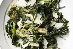 Grilled Kale and Escarole Caesar Salad