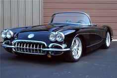 1958 Chevrolet Corvette Resto Mod Ls3 500 Hp Custom