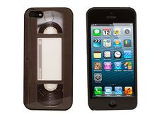 The VHS Tape Case for iPhone 5S & 5, Rocket Cases - $14.95