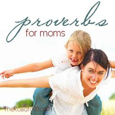 Proverbs for Mothers: I am working on taming my tongue with my children - The Road To 31