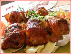 Baked Chicken, Tandoori Chicken, Pork Belly, Ham, Food To Make, Bucky, Good Food, Treats, Dishes