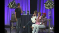 Nick Ortner speaking on EFT Tapping for Pain Relief at Hay House Washington, D.C. Event