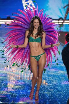 See all the best photos from the Victoria's Secret Fashion Show here
