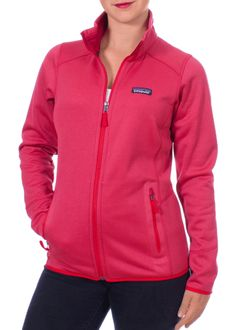 Patagonia W's Tech Fleece Jacket (French Red)