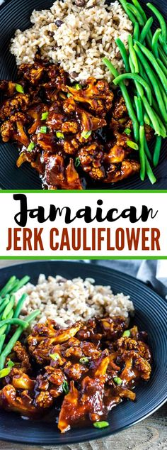 Jamaican Jerk Cauliflower Jamaican Jerk Cauliflower is enlivened by the famous Jamaican Jerk dishes. Jamaican Jerk Sauce, Jamaican Dishes, Jamaican Recipes, Jamaican Cuisine, Quick Recipes, Vegan Recipes, Vegan Food, Cheap Recipes, Summer Recipes