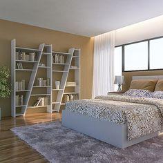 étagères 1 à 5 colonnes DELTA en bois, réversibles, laquage mat - design temahome - déco et design
