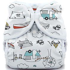 6 Pack - Thirsties Duo Wrap Diaper Cover