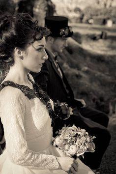Clockwork Heart & Eyelash Dream: A Victorian Steampunk Shoot