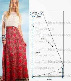 5 patrones de faldas de verano