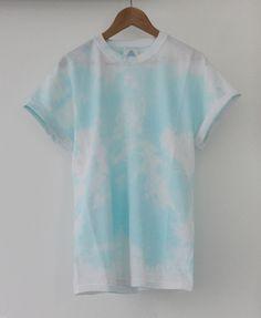 AndClothing Summer Sky Tie Dye Tee #tiedye