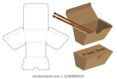 Find Box Packaging Die Cut Template Design stock images in HD and millions of other royalty-free stock photos, illustrations and vectors in the Shutterstock collection. Food Packaging Design, Box Packaging, Luxury Packaging, Coffee Packaging, Restaurant Flyer, Diy And Crafts, Paper Crafts, Vintage Logo Design, Sale Banner