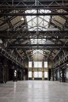 Die Location 'Jahrhunderthalle Bochum' // The location  'Jahrhunderthalle Bochum' #Location #Event #Industrial