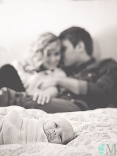 Melissa Taylor Photography Lifestyle Newborn Session- beautiful shot just wish the babies face wasn't so sad