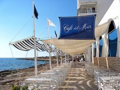 Cafe del Mar - Ibiza. Chilled-out Ibiza at its best.