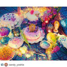 Candy Stripperのよしえさん坂口さん惣慶さんが遊びに来て下さいました 素敵な鳥かごに入ったお花までありがとうございます #Repost @candy_yoshie with @repostapp.  スイーツアーティスト KUNIKAちゃんの個展EDENを観に行きました かわいさの中に凛とした美しさを秘めたKUNIKAちゃんの世界 とーってもステキでした 9/199/27 @notoriaGallery #KUNIKA #EDEN #KUNIKA5thEDEN by _kunika_