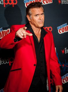 NYCC - Bruce Campbell discusses violence, fans & Evil Dead remake