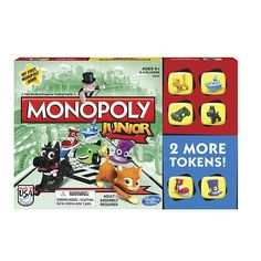 Monopoly Junior Board Game >>> Details can be found by clicking on the image.Note:It is affiliate link to Amazon.