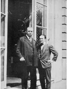 Sir Arthur Conan Doyle and Harry Houdini