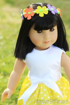 Doll Craft: Make A Flower Crown For Ivy's Birthday!