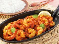 Curry de crevettes (Sud de l'Inde) - Recette de cuisine Marmiton : une recette