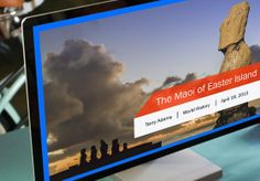 Microsoft PowerPoint 2013 Create Powerpoint Presentation, Presentation Maker, Presentation Software, Powerpoint Free, Microsoft Powerpoint, Easter Island, Creations, Templates, Learning