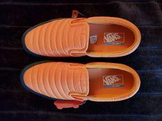 VANS Quilted Lite Slip-On lite Sneaker Orange Size US Men s 11 LIMITED  EDITION 0faa6e1c9