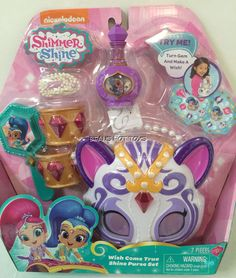 Shimmer and Shine Wish Come True - Shine Purse Set 7 piece set #JustPlay