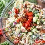 BLT Pasta Salad - Spend With Pennies