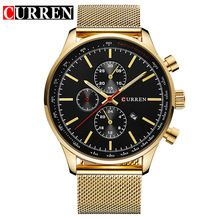 US $14.09 2016 CURREN Watches Luxury Brand Men Watch Full Steel Fashion Quartz-Watch Casual Male Sports Wristwatch Date Clock Relojes 8227. Aliexpress product