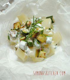 Simona'sKitchen: Cartoccio di Verdure allo Yogurt - Veggies with Yoghurt - Légumes au Yaourt