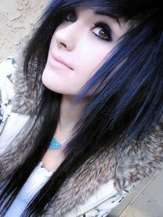 Emo girls naked with black hair sorry, that