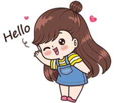 Cute Cartoon Pictures, Cute Love Pictures, Cute Images, Love Cartoon Couple, Cute Cartoon Girl, Cute Love Stories, Cute Love Gif, Girly Drawings, Cute Love Cartoons