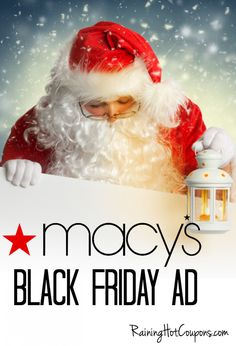 Macy's Black Friday Ad 2014 Early Black Friday, Black Friday Ads, Best Black Friday, Black Friday Shopping, Black Friday Specials, Holiday Deals, Shopping Hacks, Shopping Deals, Buy Gift Cards