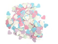 wedding confetti heart shape valentine's day by LaSoffittaDiSte
