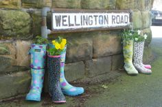 Welly road get the boot in - Recyclart