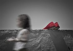 a red shoes-- by mohammad fudael