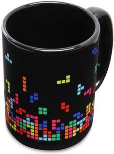 taza con diseno tetris