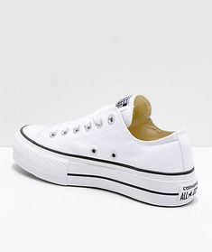 3c6c9dd84 Converse Chuck Taylor All Star Lift White Shoes