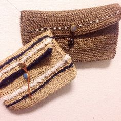 ニットクラッチの作り方 eric handmade編み物レシピ版