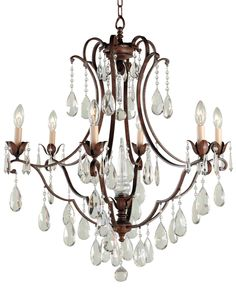 "Maison de Ville Collection 27 3/4"" Wide Crystal Chandelier -"