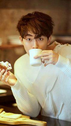 """""""Nam Joo Hyuk for Harper's Bazaar China. Nam Joo Hyuk Tumblr, Nam Joo Hyuk Smile, Asian Actors, Korean Actors, Jong Hyuk, Park Bogum, Joon Hyung, Bride Of The Water God, Park Hyung"""